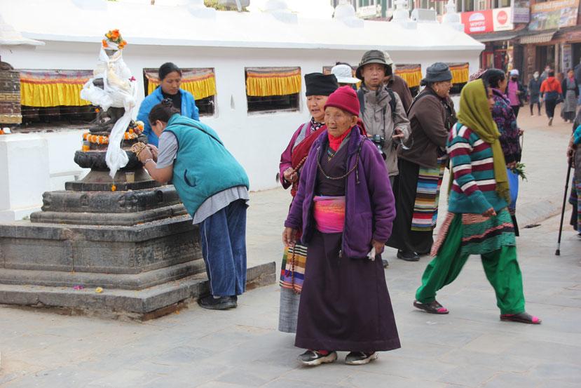 katmandu-peregrinos-boudhanath