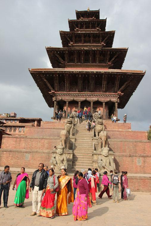viajar-a-katmandu-pagoda-nyathapola