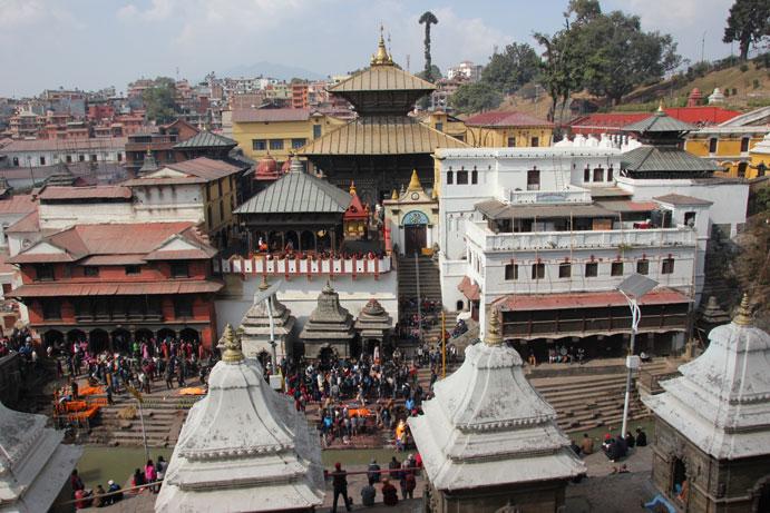 Visita a Pashupatinath en Katmandu