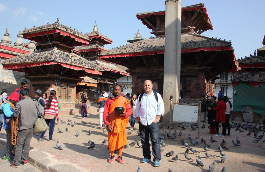 Visita de la Plaza Durbar en Katmandú